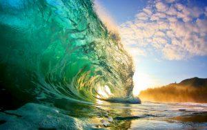 crystal-clear-wave-sunrise